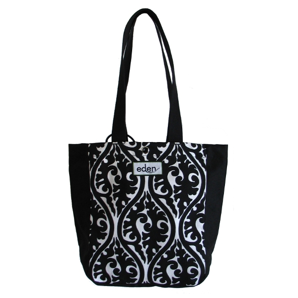 Midnight Topiary Eco Friendly Petite Tote Bag