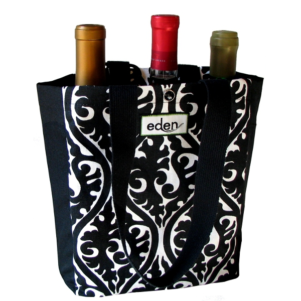 Black Eco Friendly Petite Tote Bag